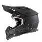 Мотокрос каска O'NEAL 2SERIES FLAT BLACK MATT 2020