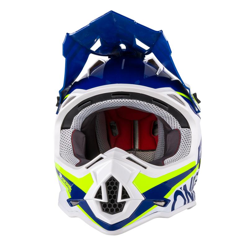 Каска O'NEAL 2SERIES SPYDE BLUE/HI- VIZ thumb