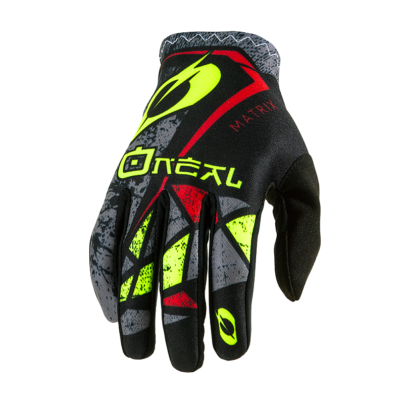 Мотокрос ръкавици O'NEAL MATRIX ZEN NEON YELLOW