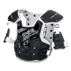 Мотокрос броня O`NEAL PXR STONE SHIELD BLACK/GRAY