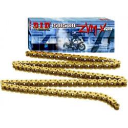 Двойно подсилена мото верига DID 50(530)ZVMXG&G 110-звена DID50(530)ZVMXG&G110