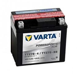 Мото акумулатор VARTA 12V - TTZ7S-BS VARTA FUN