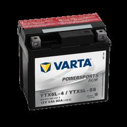 Мото акумулатор VARTA 12V - YTX5L-BS VARTA FUN
