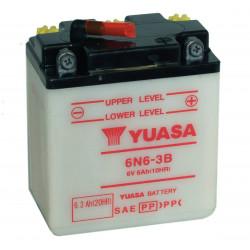 Мото акумулатор YUASA 6V - 6N6-3B YUASA