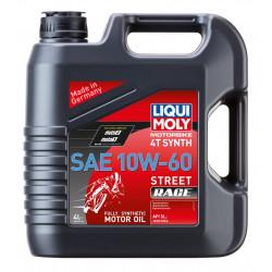 Мотоциклетно масло LIQUI MOLY SAE 10W-60 STREET RACE - 4 Литра