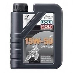Мотокрос масло LIQUI MOLY 15W-50 4T OFFROAD - 1 литър