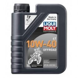 Мотокрос масло LIQUI MOLY 10W-40 4T OFFROAD - 1 литър