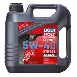 Маслo синтетично LIQUI MOLY 4T Synth 5W-40 Race - 4литра
