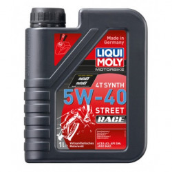 Маслo синтетично LIQUI MOLY 4T Synth 5W-40 Race - 1литър
