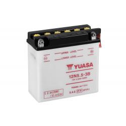 Мото акумулатор YUASA 12V - 12N5.5-3B YUASA