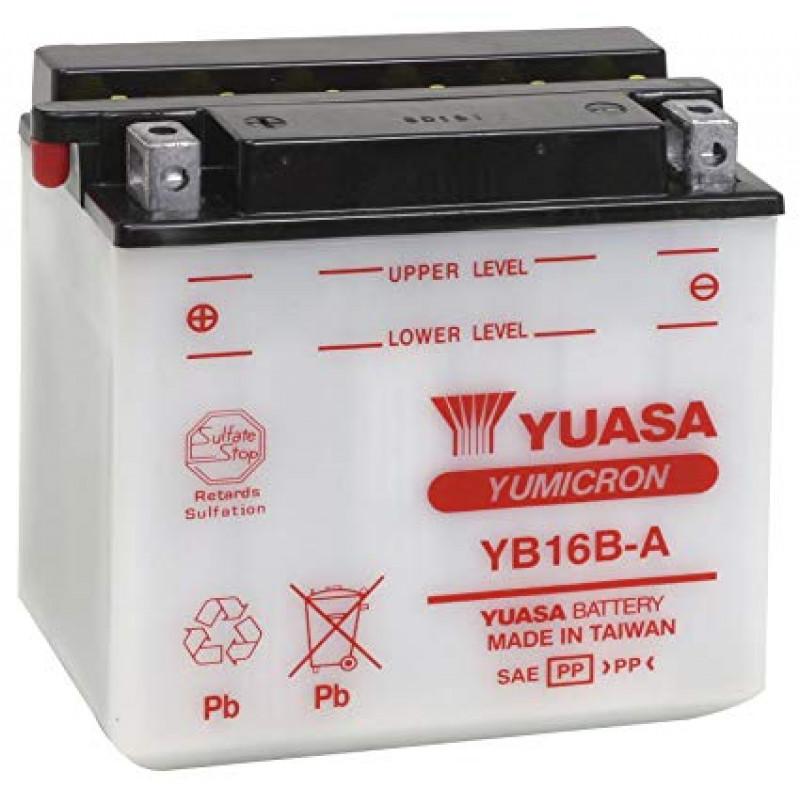 Мото акумулатор YUASA 12V - YB16B-A YUASA