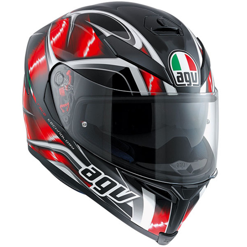 КАСКА AGV K5-S HURRICANE RED