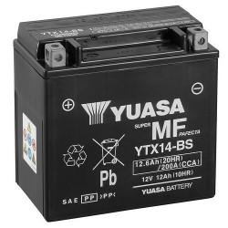 Мото акумулатор YUASA 12V - YTX14-BS YUASA