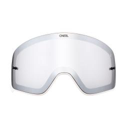 Магнитна плака за очила O'NEAL B-50 WHITE FRAME SILVER MIRROR
