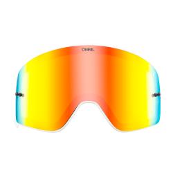 Магнитна плака за очила O'NEAL B-50 WHITE FRAME RADIUM/RED
