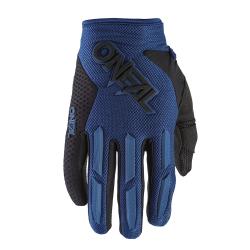 Детски мотокрос ръкавици O'NEAL ELEMENT BLUE 2020