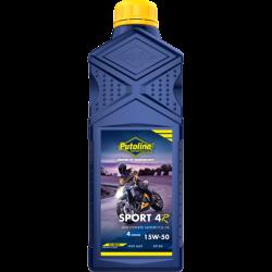 Полусинтетично масло PUTOLINE Sport 4R 15W-50