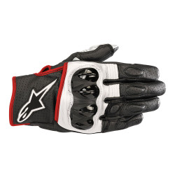 Ръкавици ALPINESTARS CELER V2 BLACK/WHITE/RED FLUO