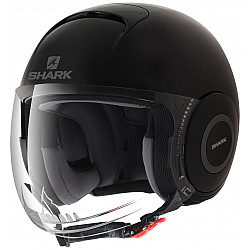 Каска за скутер SHARK MICRO BLACK MATT