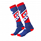 Термо чорапи O'NEAL Pro MX STARS RED/BLUE thumb