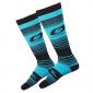 Термо чорапи O'NEAL Pro MX STRIPES TEAL/BLACK thumb