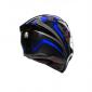 Каска AGV  K5-S HURRICANE 2.0 BLUE thumb