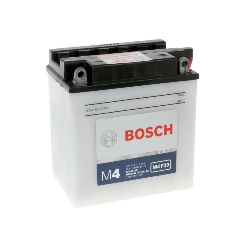 Мото акумулатор Bosch M4 12V YB10L-B2