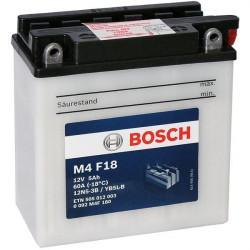 Мото акумулатор Bosch M4 12V  YB5L-B