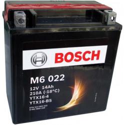 Мото акумулатор Bosch M6 12V YTX16-BS