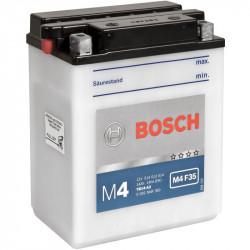 Мото акумулатор Bosch M4 12V YB14-A2