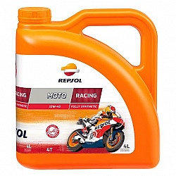 REPSOL MOTO RACING 4T 10W40 - 4 ЛИТРА
