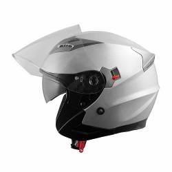 Каска за скутер A-PRO KINETIC SILVER
