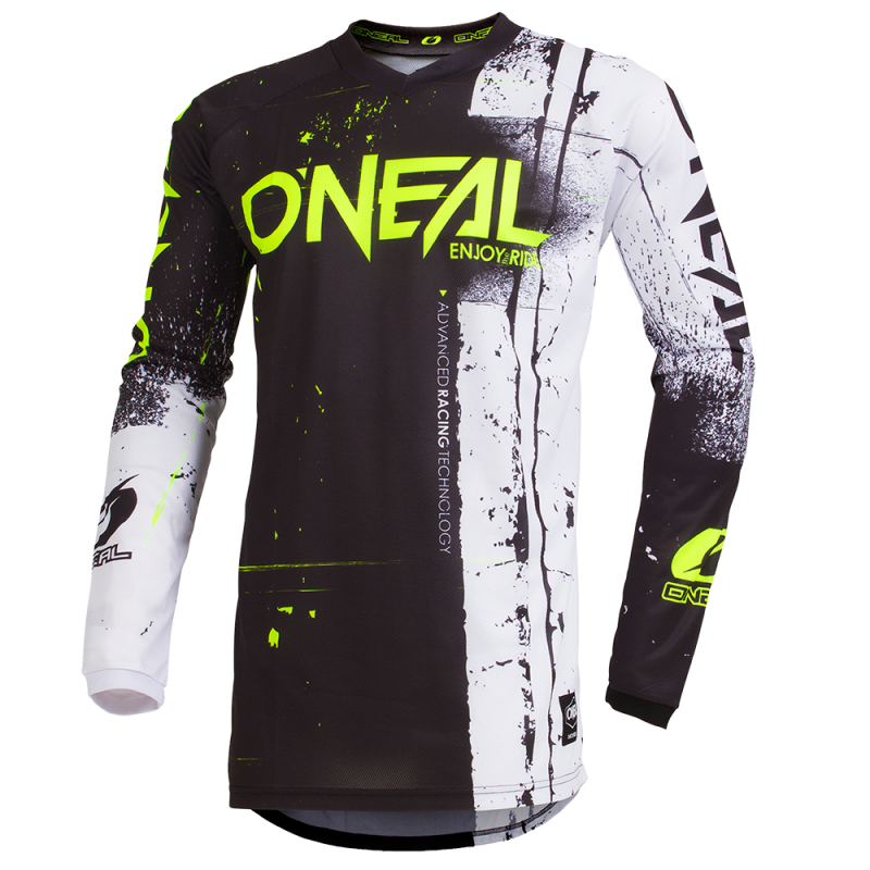 Детска мотокрос блуза O'NEAL ELEMENT SHRED BLACK