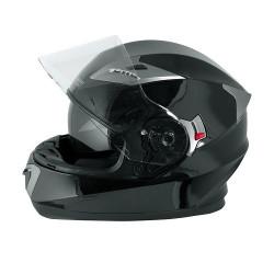 Шлем за мотор A-PRO BADGE BLACK