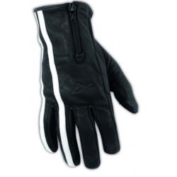 Кожени ръкавици A-PRO GRAN TORINO BLACK/WHITE