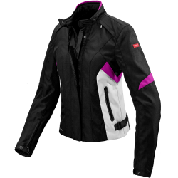 Дамско яке SPIDI FLASH H2OUT BLACK/PINK