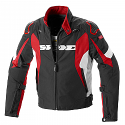 Текстилно мото яке SPIDI SPORT WARRIOR H2OUT BLACK/RED