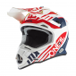 Мотокрос каска O'NEAL 2SERIES SPYDE 2.0 WHITE/BLUE/RED 2020