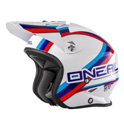 Каска O'NEAL SLAT CIRCUIT WHITE/BLUE/RED