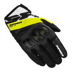 Мото ръкавици SPIDI FLASH-R EVO BLACK/FLUO YELLOW