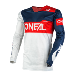 Мотокрос блуза O'NEAL AIRWEAR FREEZ GRAY/BLUE/RED