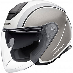Каска за скутер SCHUBERTH M1 PRO OUTLINE GRAY