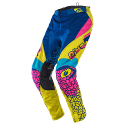 Крос брич O'NEAL MAYHEM CRACKLE 91 YELLOW/WHITE/BLUE