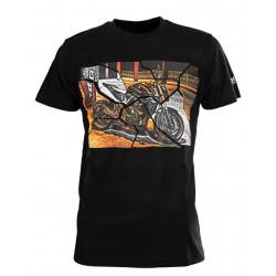Мото тениска SECA BRIDGE BLACK