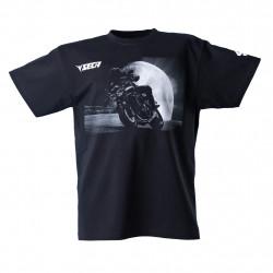 Мото тениска SECA MOON BLACK