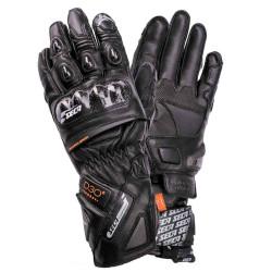 Кожени ръкавици SECA TRACKDAY BLACK