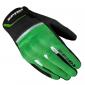 Текстилни мото ръкавици SPIDI FLASH CE BLACK/KAWA GREEN