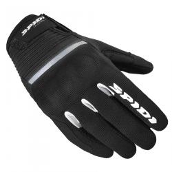 Дамски текстилни мото ръкавици SPIDI FLASH CE BLACK/WHITE