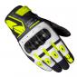 Мото ръкавици SPIDI G-CARBON BLACK/FLUO YELLOW