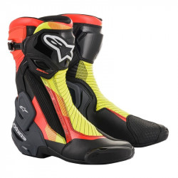 Ботуши ALPINESTARS SMX PLUS V2 BLACK/RED/YELLOW